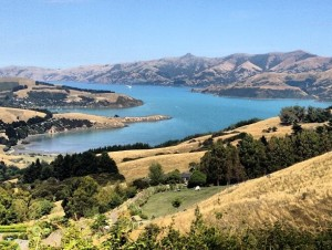 Banks Peninsula, Christchurch, New Zealand