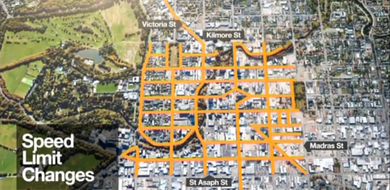 Accessible cities and Christchurch: Moving in opposite directions