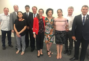 Brazilian Vice-Chancellors at JCU Townsville campus