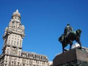 Palacio Salvo and General Artigas Monument