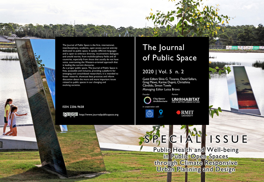 Public Health and Well-being in Public Open Spaces through Climate Responsive Urban Planning and Design